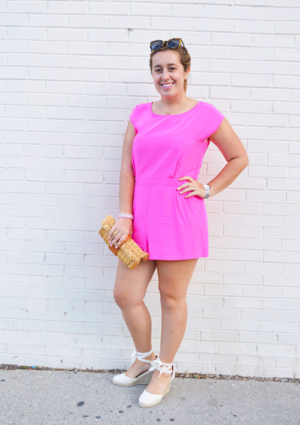 Pretty in (neon) Pink Collab