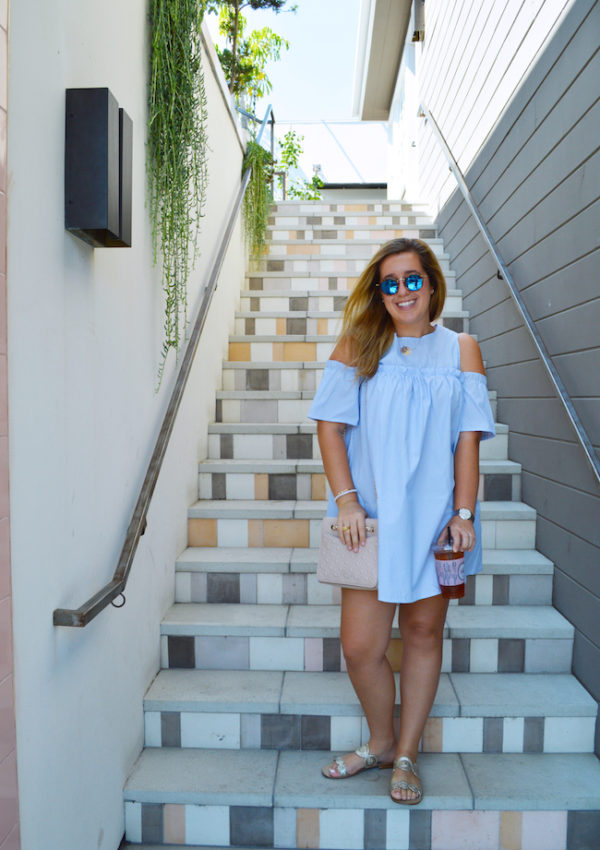 Blue Mirrored Sunnies {Giveaway!}