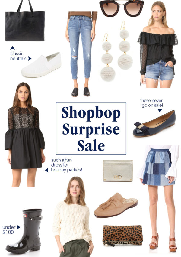 Shopbop Surprise Sale Picks