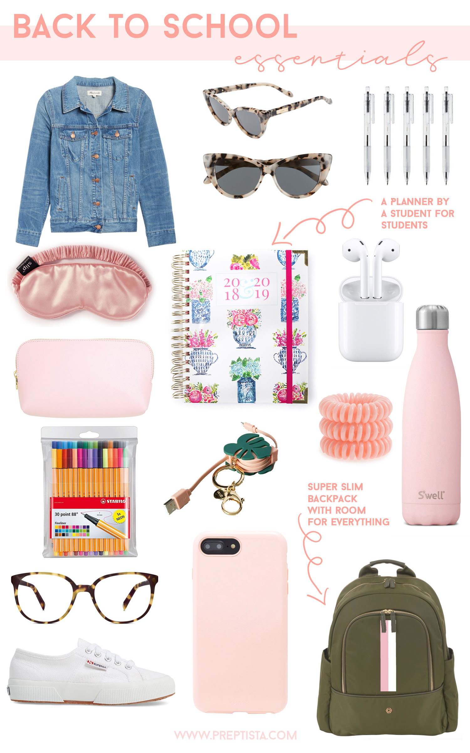 af33be9af232 Back To School Essentials - Preptista